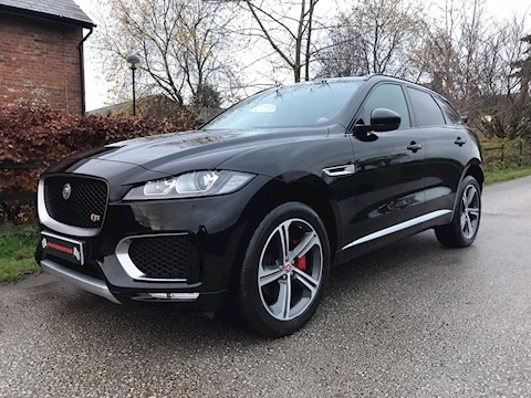 F-Pace V6 S Awd Estate 3.0 Automatic Diesel