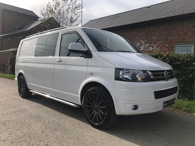 Transporter T32 Tdi Kombi Highline Van With Side Windows 2.0 Manual Diesel