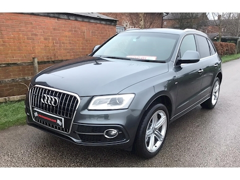 Q5 Tdi Quattro S Line Plus Estate 3.0 Automatic Diesel