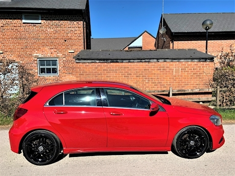 A-Class A 160 Amg Line Executive Hatchback 1.6 Manual Petrol