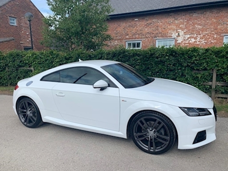 Tt Tfsi S Line Coupe 1.8 Manual Petrol