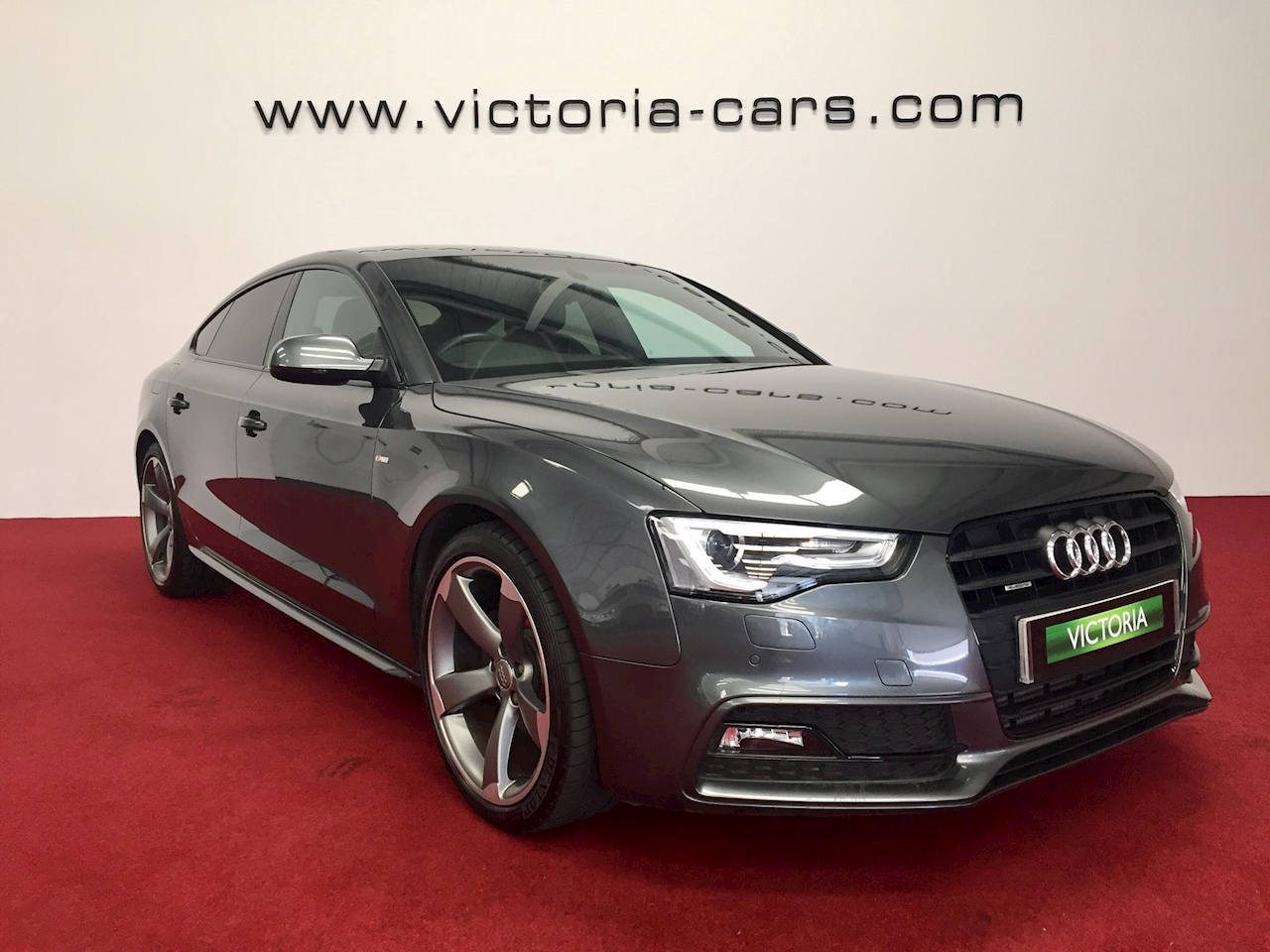 used audi a5 sportback tdi quattro s line black ed victoria cars. Black Bedroom Furniture Sets. Home Design Ideas