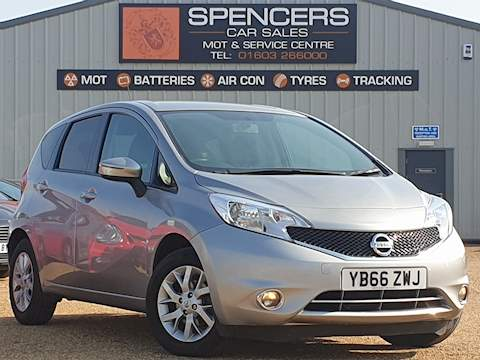 Nissan Note Acenta Mpv 1.2 Manual Petrol