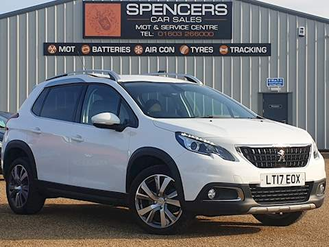 Peugeot 2008 Blue Hdi S/S Allure Hatchback 1.6 Manual Diesel