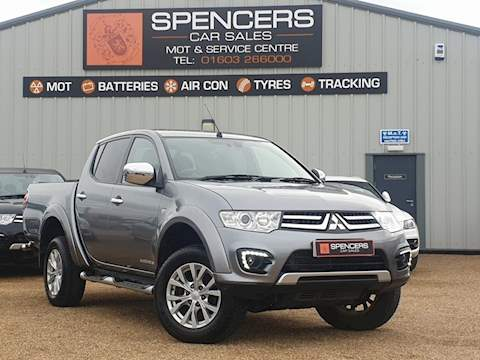 Mitsubishi L200 Di-D 4X4 Barbarian Lb Dcb Pick-Up 2.5 Manual Diesel