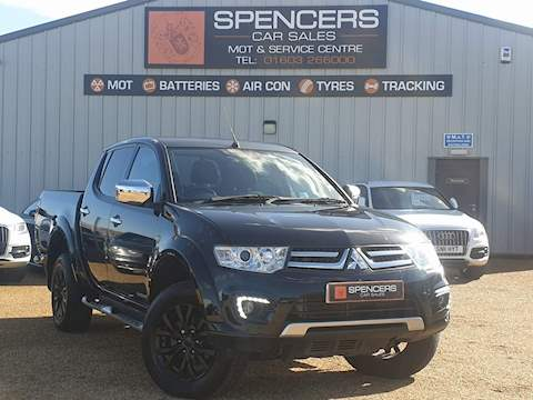 Mitsubishi L200 Di-D 4X4 Barbarian Black Lb Dcb Pick-Up 2.5 Manual Diesel