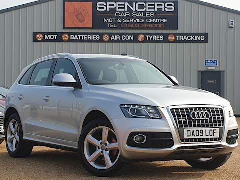 Audi Q5 Tdi Quattro Dpf S Line Estate 2.0 Manual Diesel