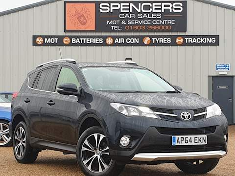Toyota Rav4 D-4D Invincible 2.2 5dr SUV Manual Diesel
