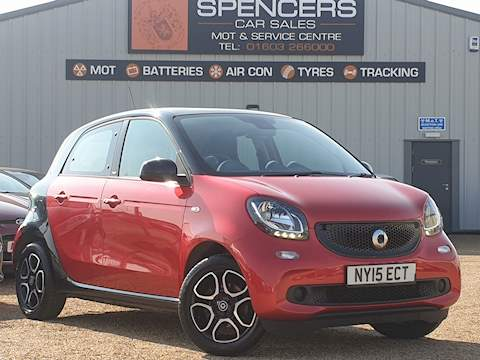 Smart Forfour Prime Hatchback 1.0 Manual Petrol