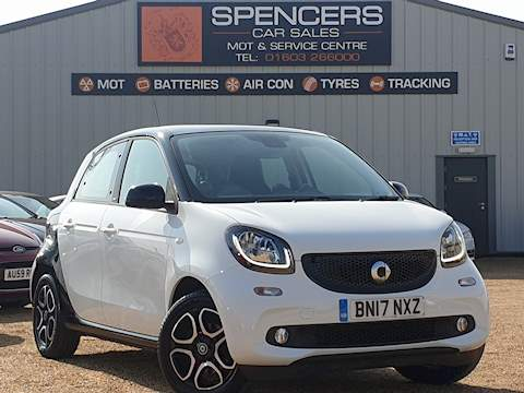 Smart Forfour Prime Premium Plus Hatchback 1.0 Manual Petrol