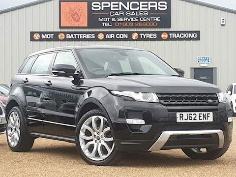 Land Rover Range Rover Evoque Sd4 Dynamic Lux 2.2 5dr SUV Manual Diesel
