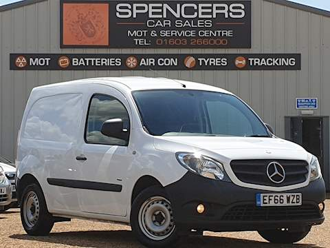 Mercedes-Benz Citan 109 Cdi Blueefficiency Panel Van 1.5 Manual Diesel