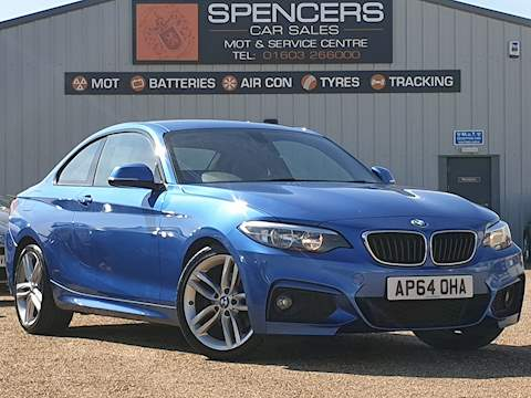 Bmw 2 Series 220D M Sport Coupe 2.0 Manual Diesel