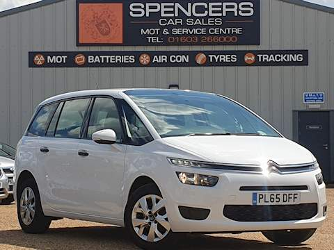 Citroen C4 Picasso Grand Bluehdi Vtr Mpv 1.6 Manual Diesel