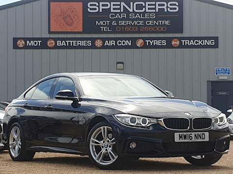 Bmw 4 Series 420D Xdrive M Sport Gran Coupe Coupe 2.0 Automatic Diesel
