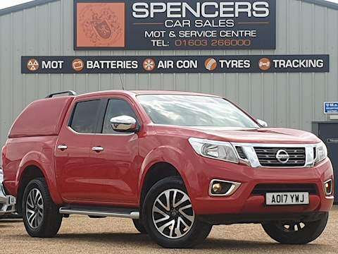 Nissan Navara Dci N-Connecta 4X4 Shr Dcb 2.3 4dr Pick-Up Automatic Diesel