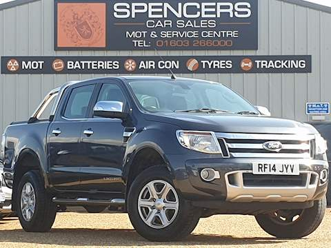 Ford Ranger Limited 4X4 Dcb Tdci 2.2 4dr Pick-Up Automatic Diesel