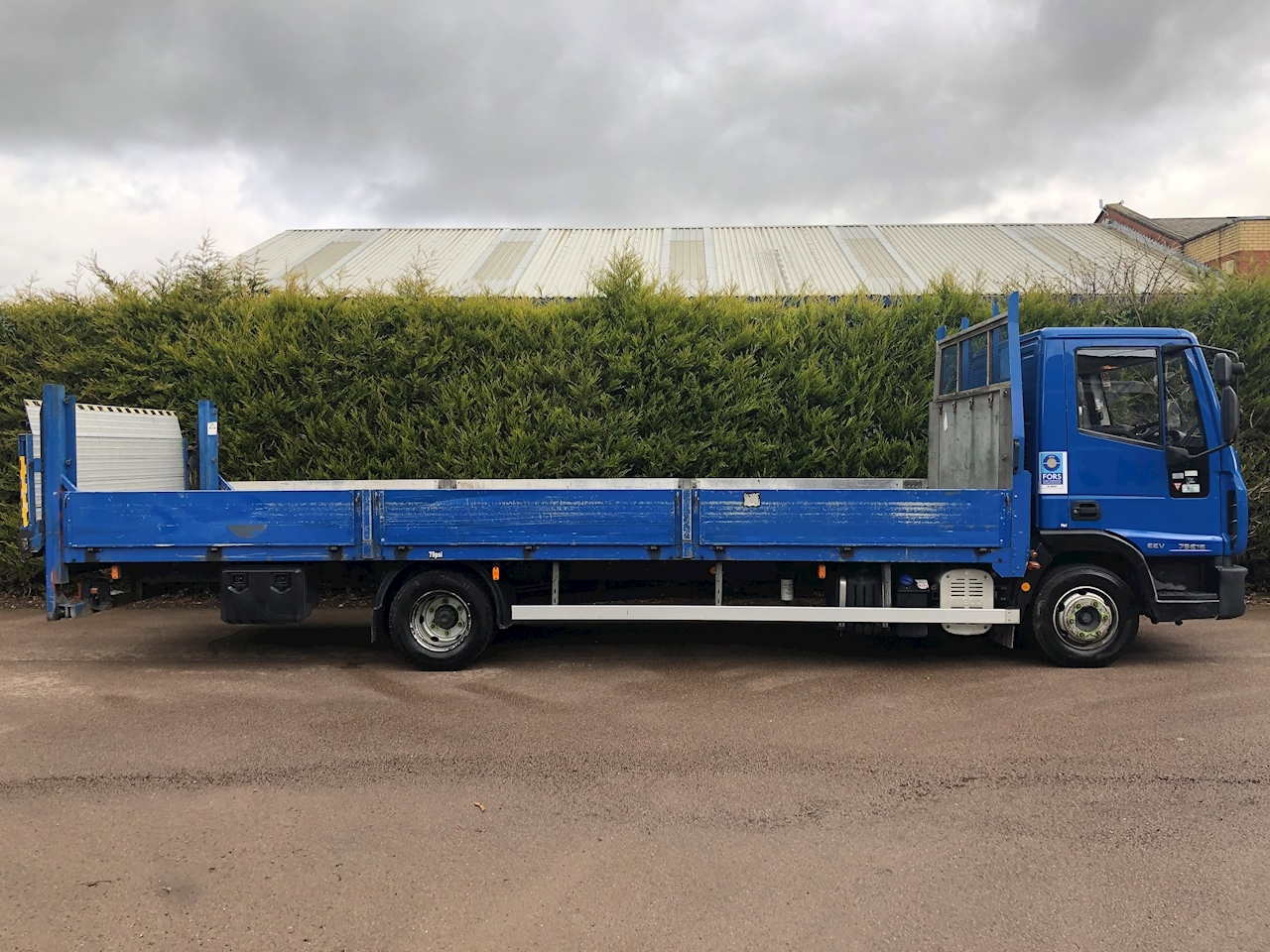 Iveco 2010 Iveco Eurocargo 75E16s 3.9 160bhp 23ft DROPSIDE - TAIL LIFT