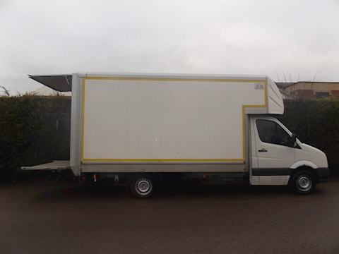 Volkswagen Crafter Cr35 Blue Tdi