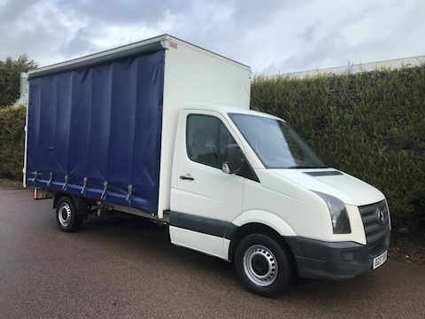 Volkswagen Crafter Cr35 Lwb CURTAIN SIDE - 3.5T