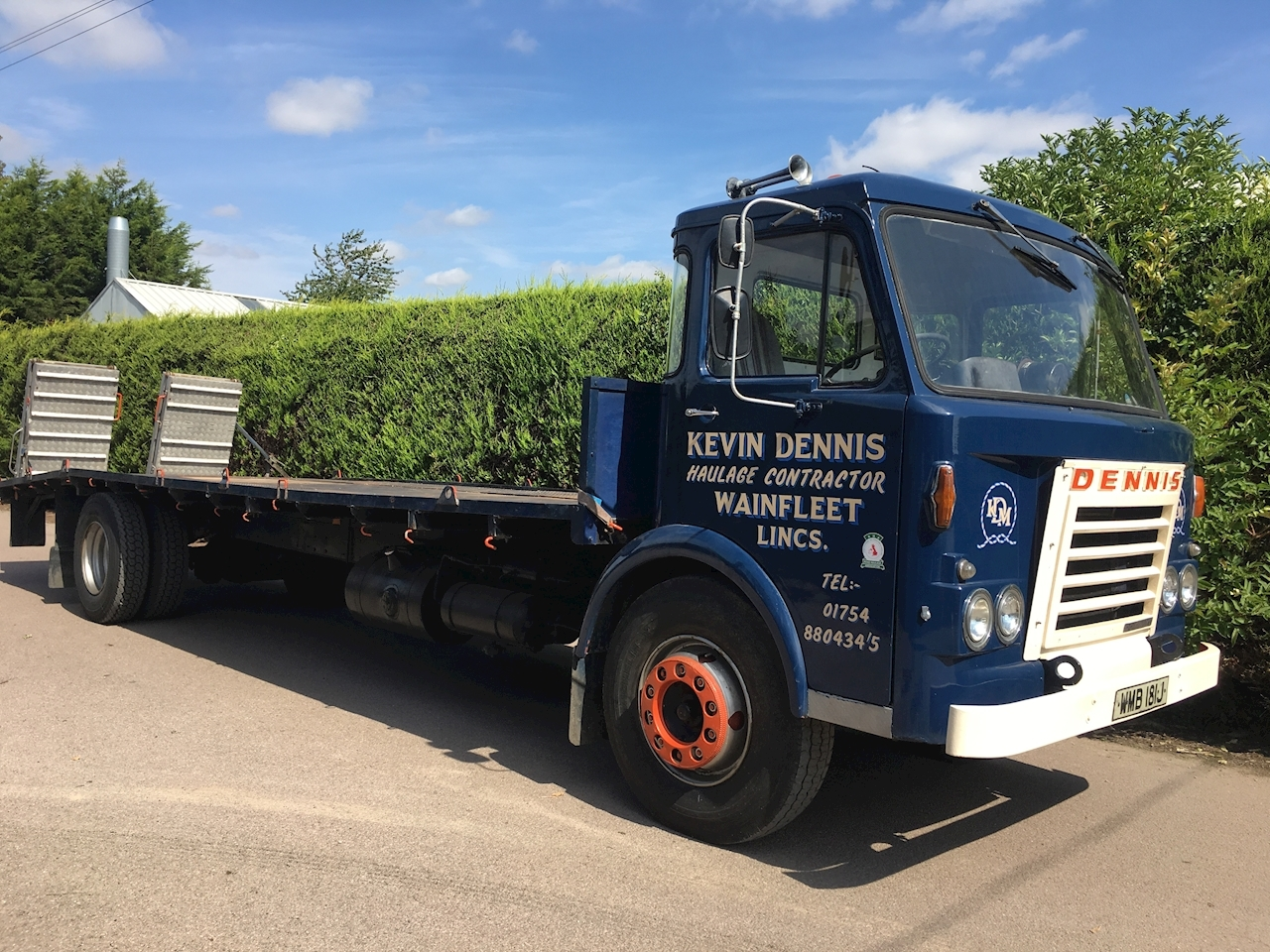 Dennis 1971 DENNIS Dominant  PAX V - 15 TON - LOW LOADER