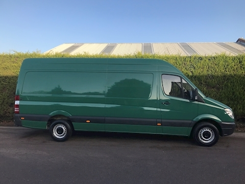 2010 Mercedes Sprinter 313 2.1 Cdi LWB PANEL VAN HIGH ROOF