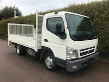 2010 Mitsubishi Fuso Canter 3C13 MWB DROPSIDE - TAIL LIFT - Thumb 1