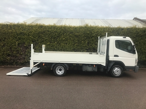 Mitsubishi Fuso Canter 35 MWB 3C13-30  Dropside Tail Lift