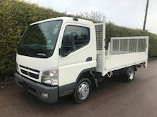 2010 Mitsubishi Fuso Canter 3C13 MWB DROPSIDE - TAIL LIFT - Thumb 2