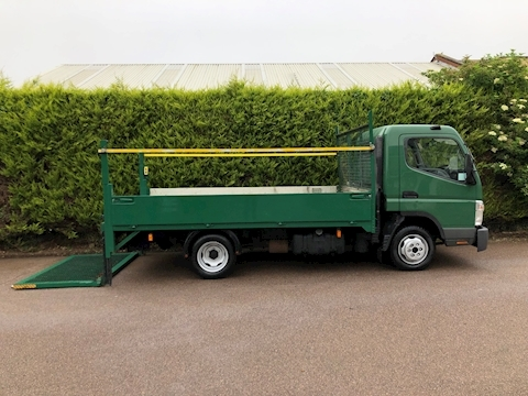 Mitsubishi Fuso Canter 3C13 DROPSIDE - TAIL LIFT