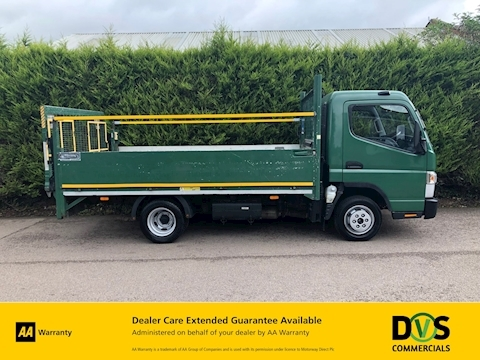 Mitsubishi Fuso Canter 3C13 3.0 HIGH SIDED DROPSIDE - TAIL LIFT - AUTOMATIC - TAIL LIFT