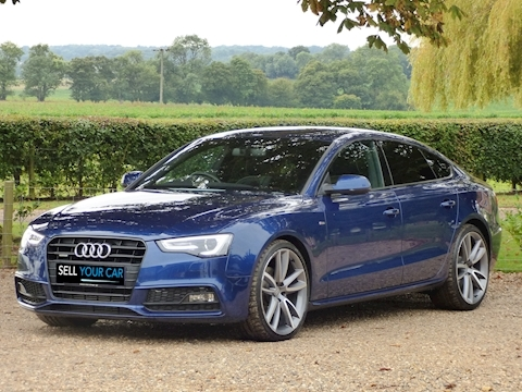 used audi a5 sportback tdi quattro s line black ed plus | sell your
