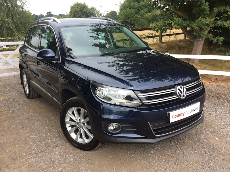 Volkswagen Tiguan Se Tdi Bluemotion Technology