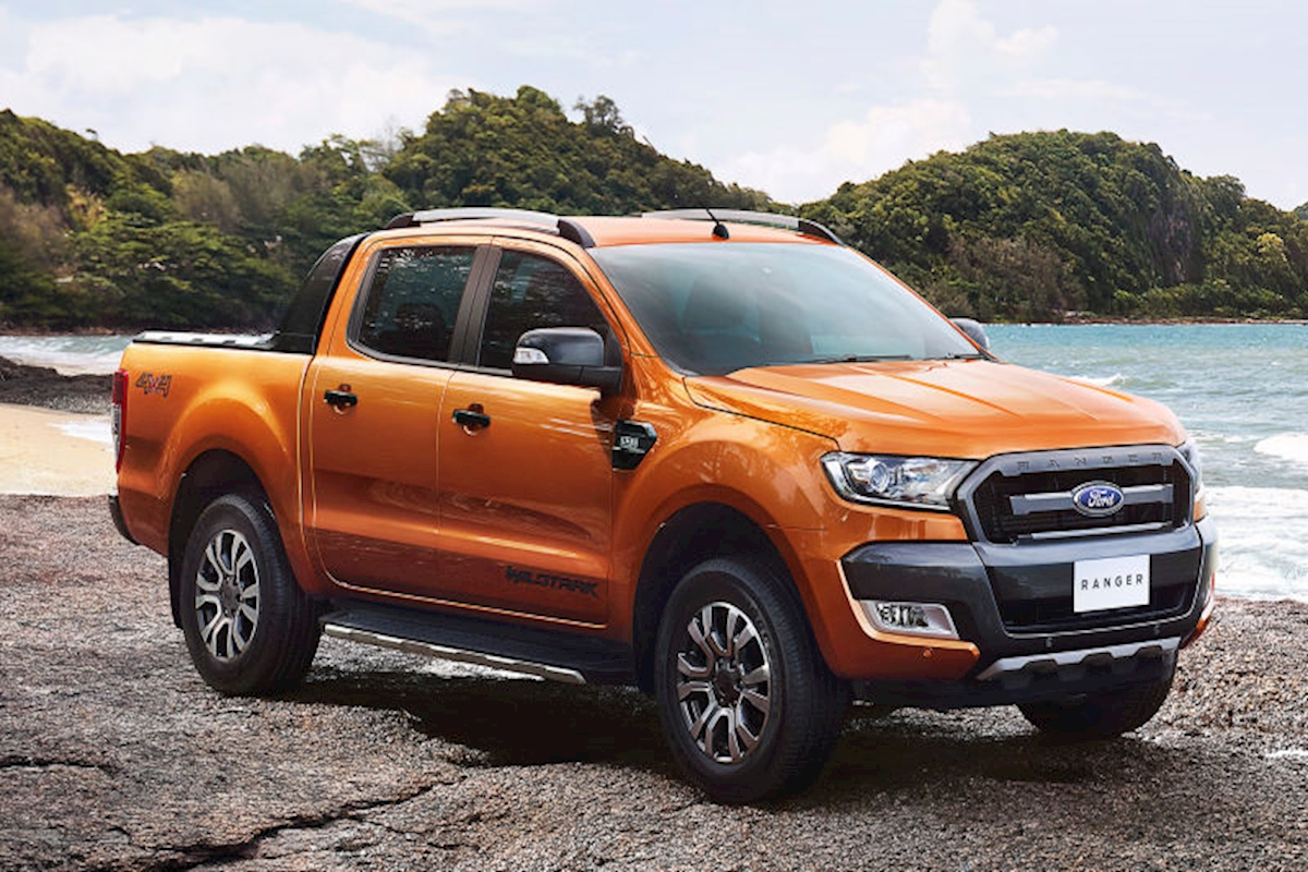 new ford ranger d cab wildtrack 3 2 tdci 200 2018 van sales uk bristol. Black Bedroom Furniture Sets. Home Design Ideas