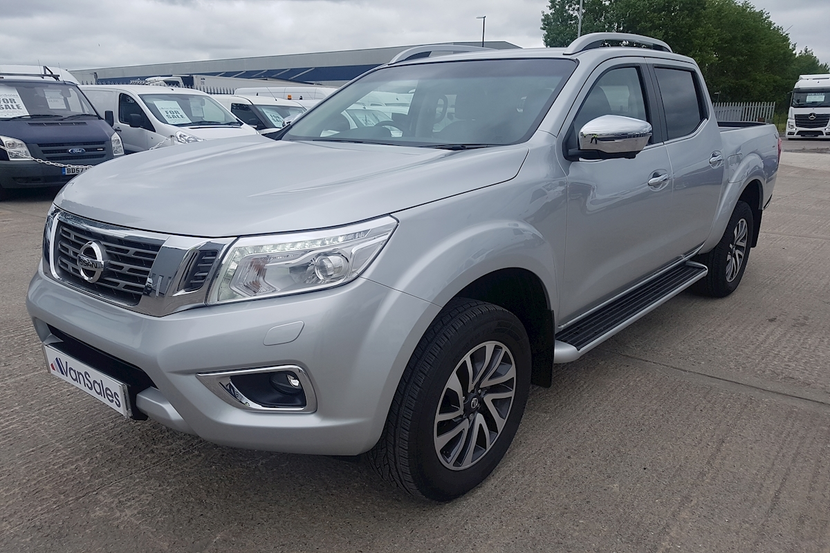 Nissan Navara Tekna Double Cab 2.3 dCi Twin Turbo 190ps 4WD 4x4 Automatic