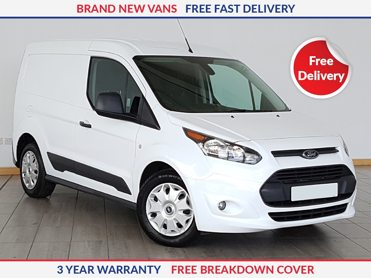 Ford Transit Connect L2 1.5 TDCI 200 Trend 100ps SWB Panel Van