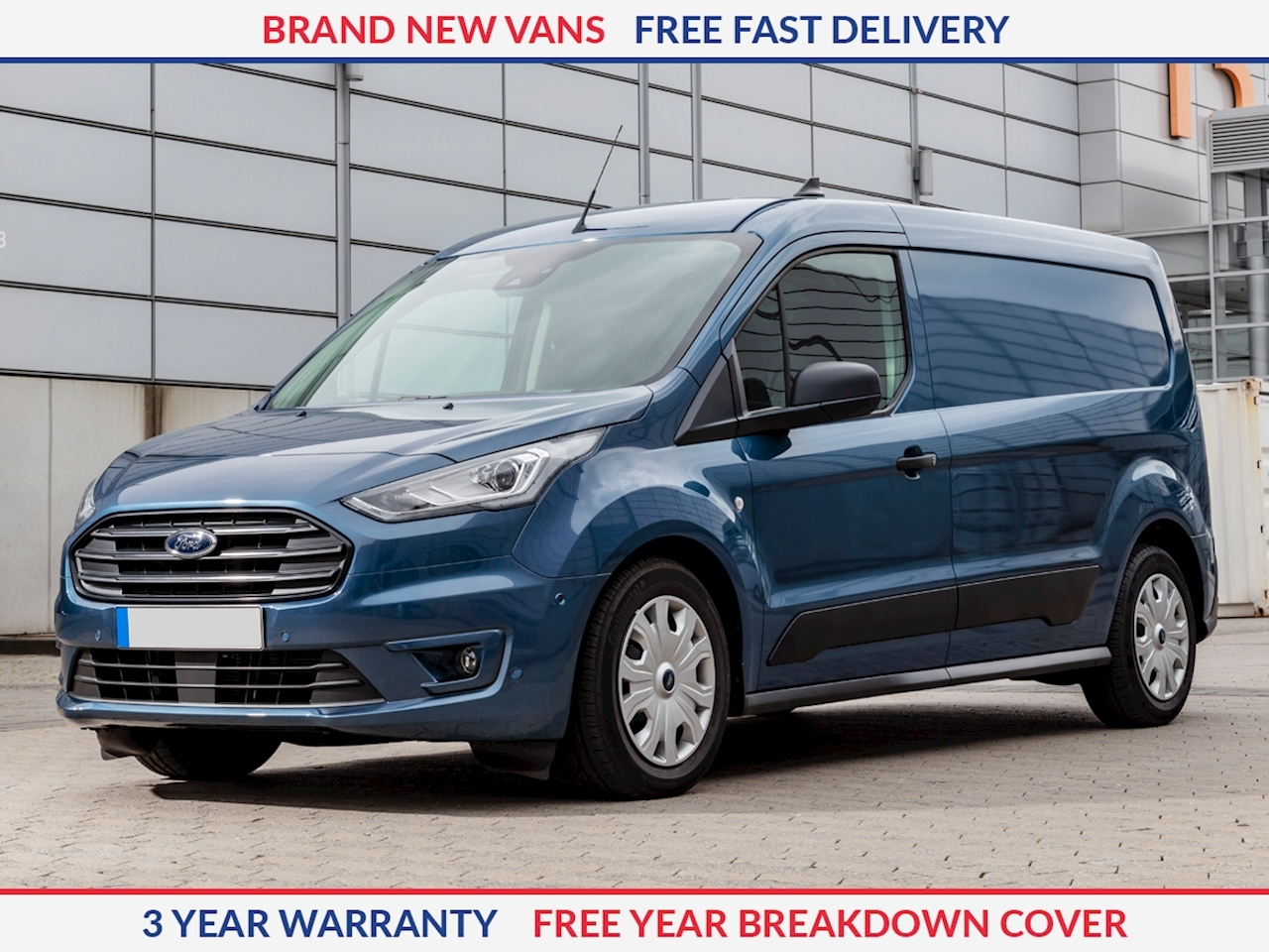 Ford Transit Connect L2 1.5 TDCI 240 Trend 100ps LWB Panel Van