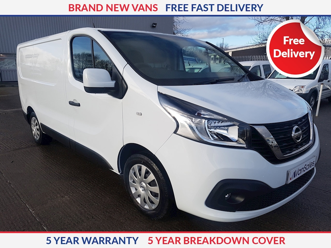 Nissan NV300 L1 H1 SWB Acenta 2.0 dCI 120ps Panel Van