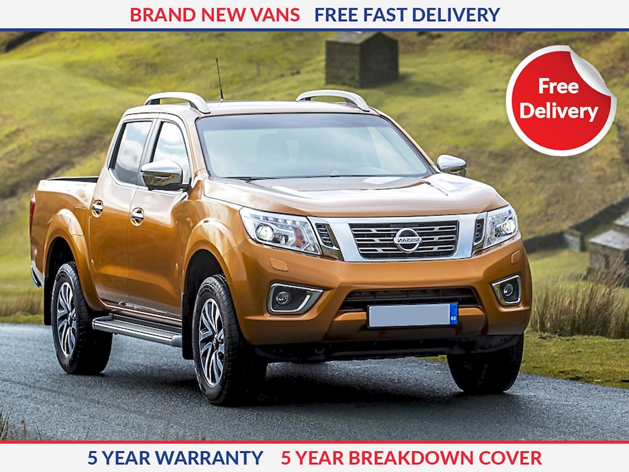 Nissan Navara N-Connecta Double Cab 2.3 dCi Twin Turbo 190ps 4WD 4x4 Automatic