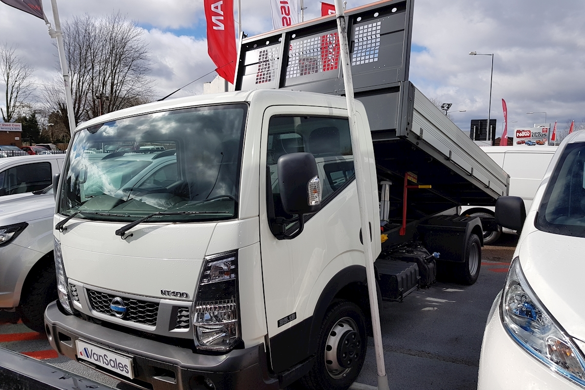 Nissan NT400 Cabstar Tipper MWB 3.0 dCi 130ps