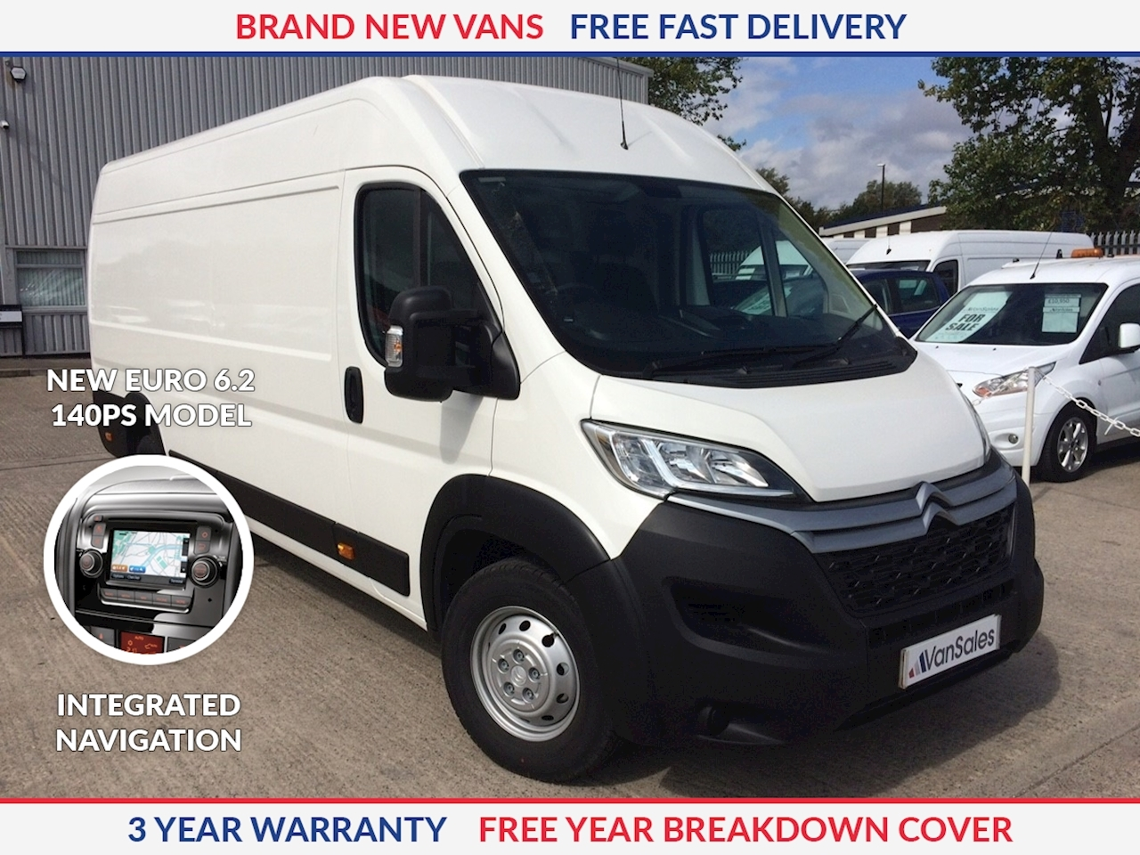 Citroen Relay L4 H2 2.2 HDI 140ps Enterprise Euro 6.2 **NEW MODEL**