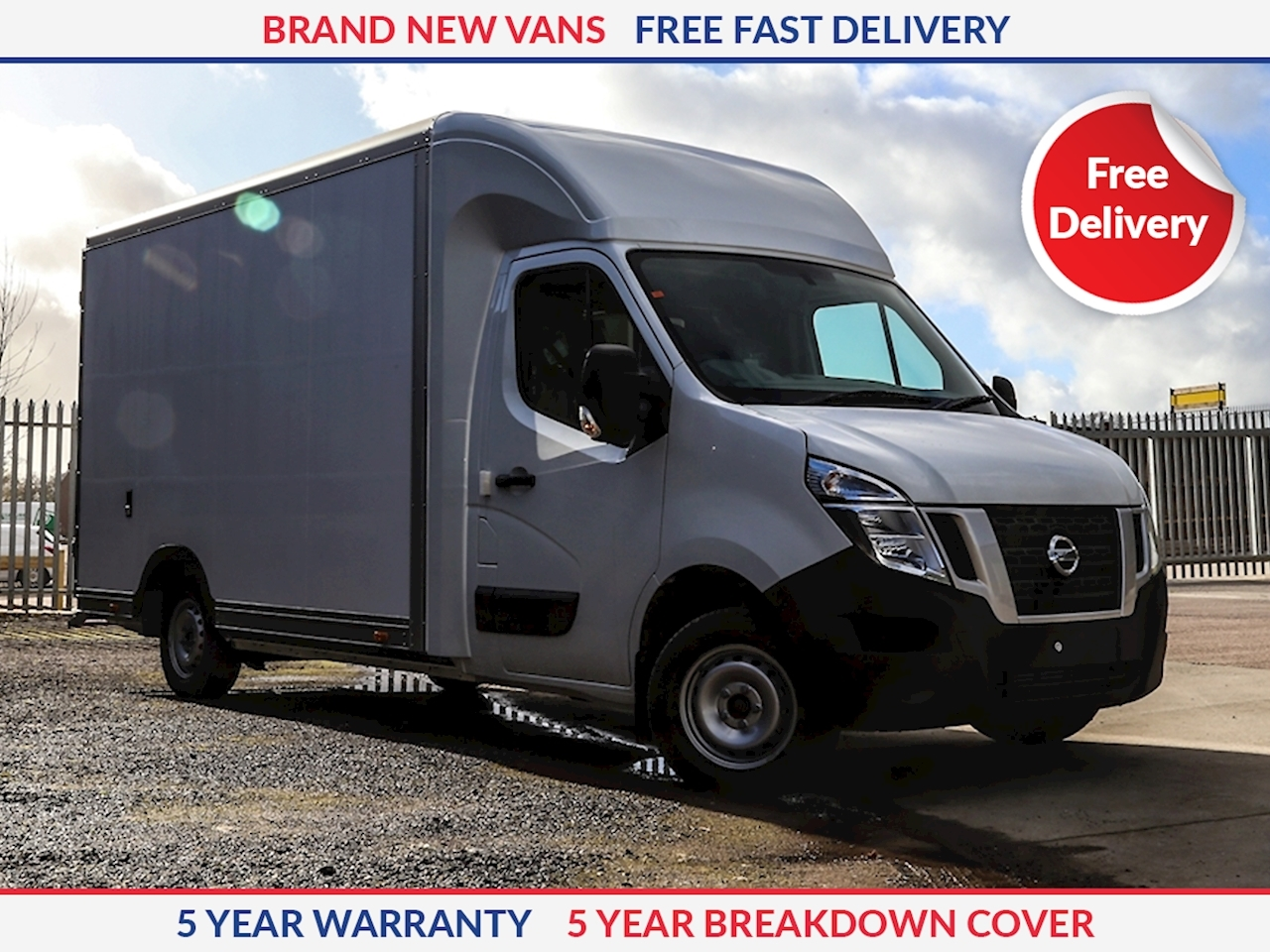 Nissan NV400 L3 130ps FWD SE Low Loader
