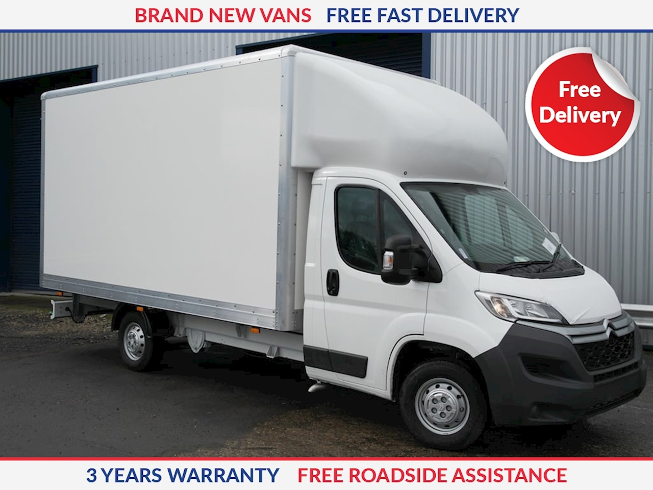 Citroen Relay L3 160ps Luton with Tailift