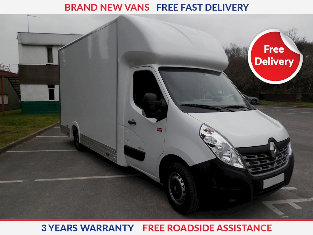 Renault Master Low Loader LL35 2.3dCi 130ps