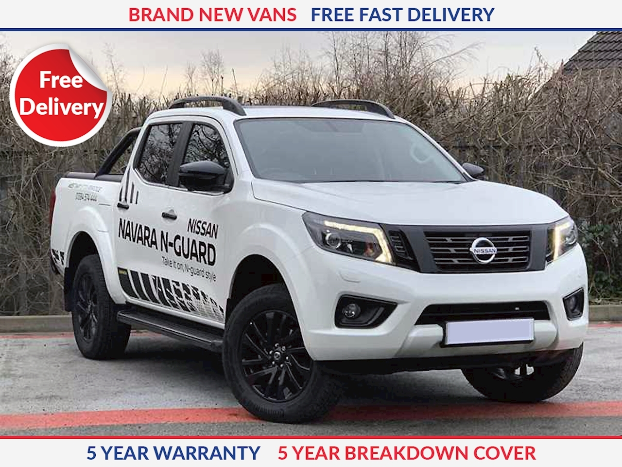 Nissan Navara N-Guard Double Cab 4x4