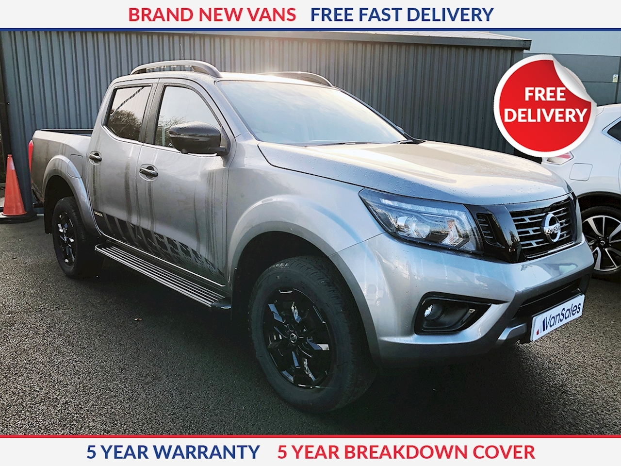 Nissan Navara MY19 Facelift N-Guard Double Cab 2.3 190PS Automatic