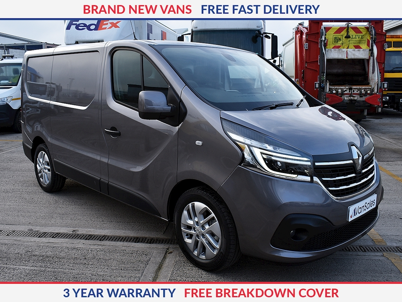 Renault Trafic Sport Nav SL28 2.0 DCI 120PS **NEW MODEL**