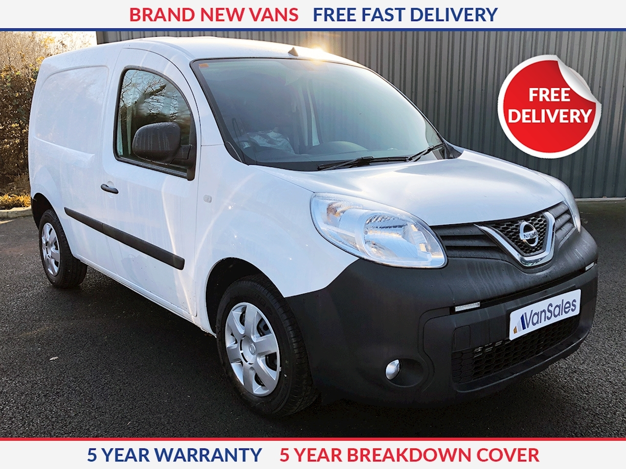 Nissan NV250 Acenta L1 95PS