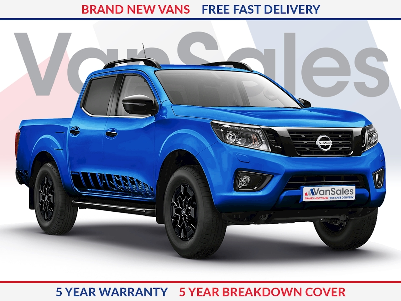 Nissan Navara MY20 N-Guard 2.3 190PS Automatic **Limited Edition - Electric Blue**