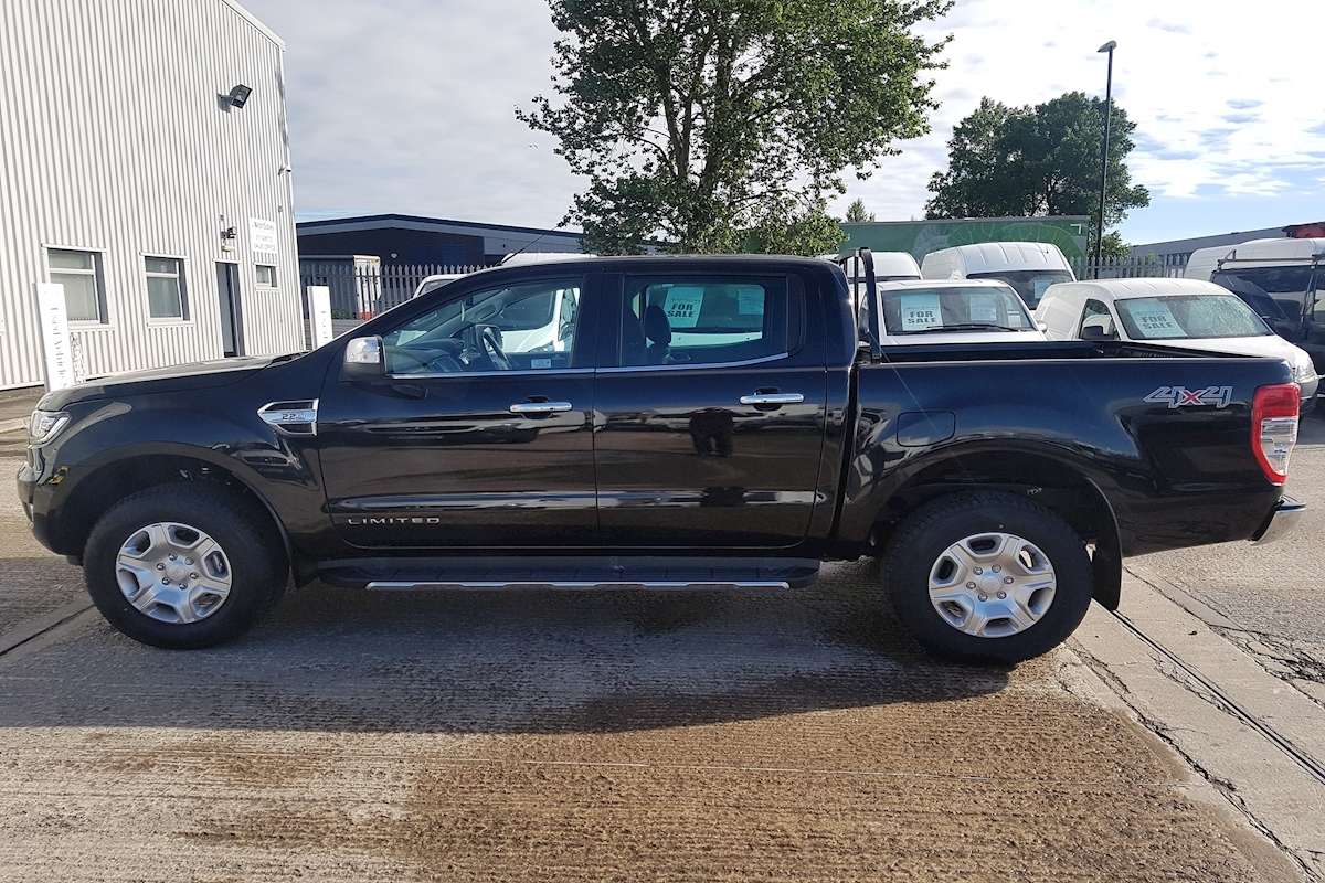 used ford ranger limited double cab limited 1 2 2 tdci 160ps 2018 van sales uk bristol. Black Bedroom Furniture Sets. Home Design Ideas